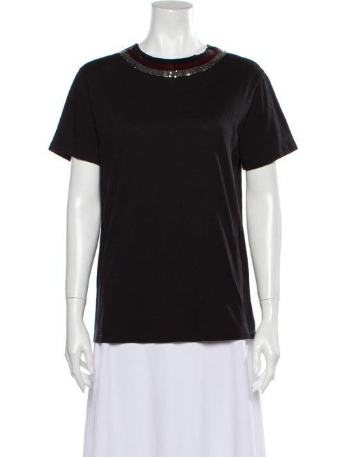 Gucci Crew Neck Short Sleeve T-Shirt Black