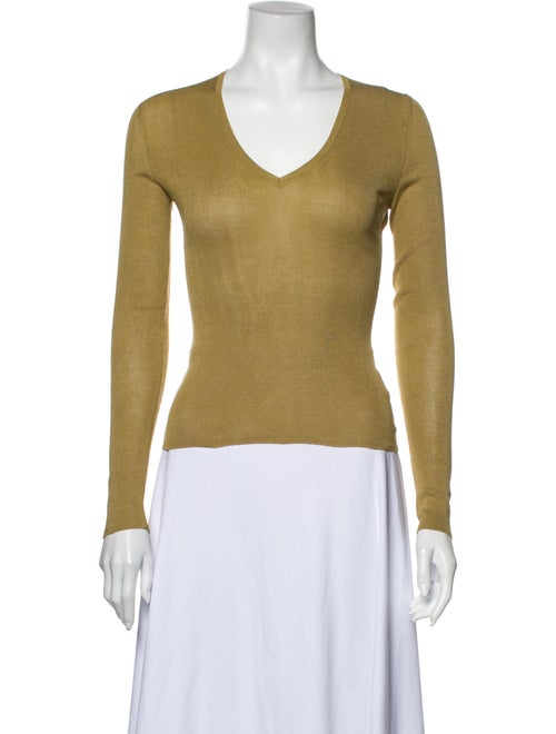 Gucci Vintage 1990's Top Gold