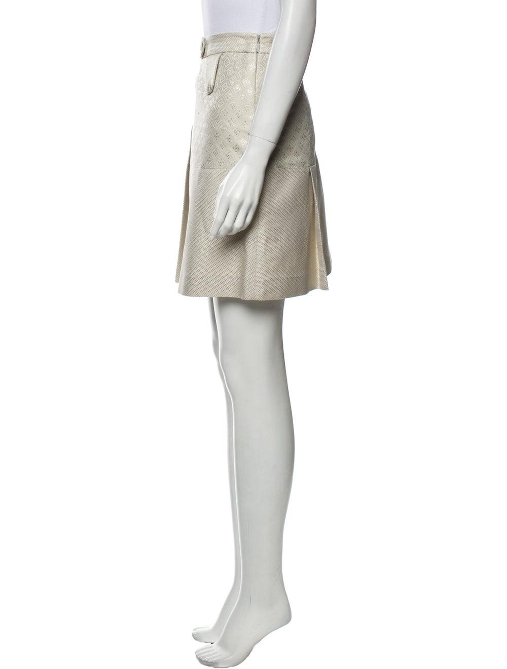 Gucci Mini Skirt Metallic - image 2