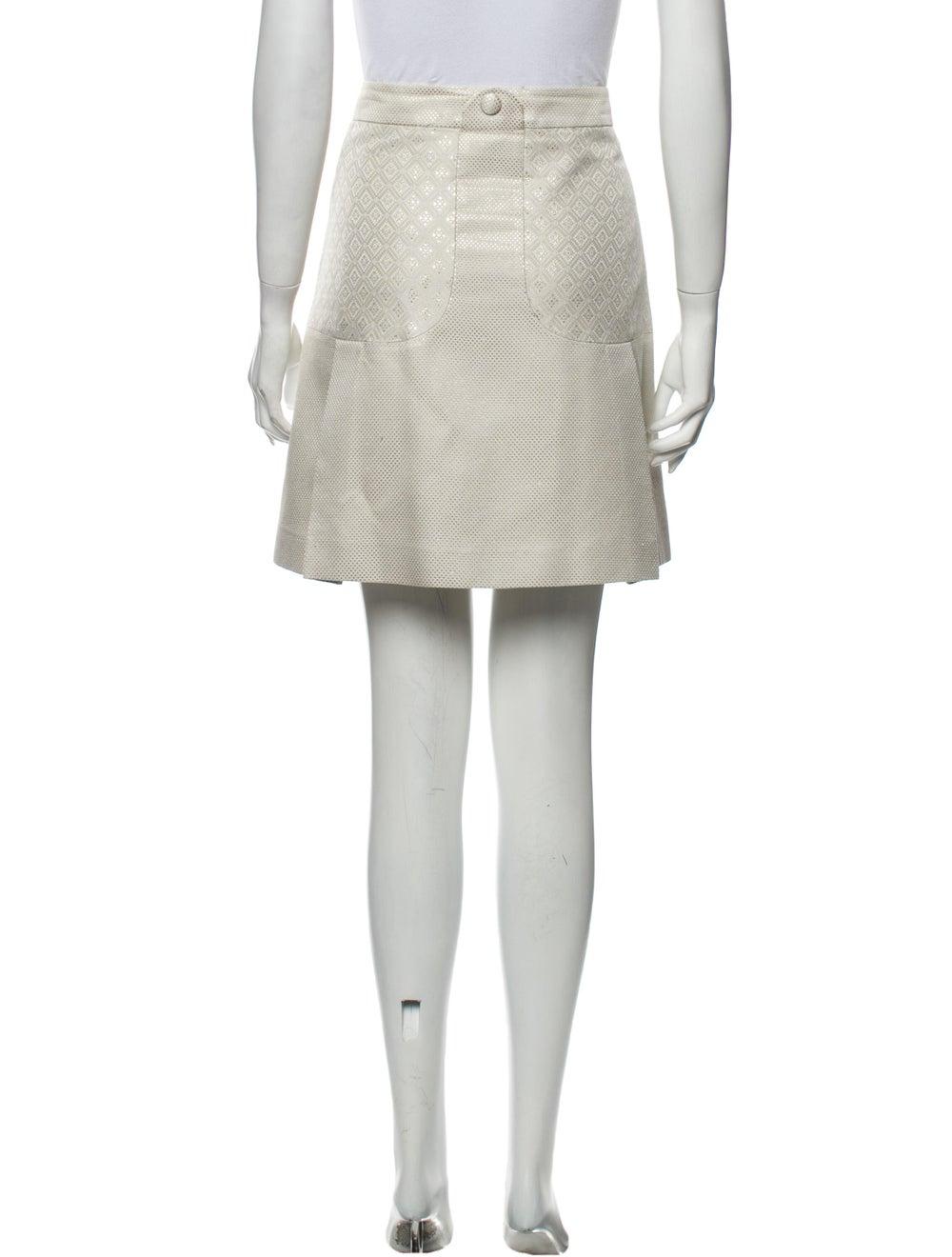 Gucci Mini Skirt Metallic - image 3