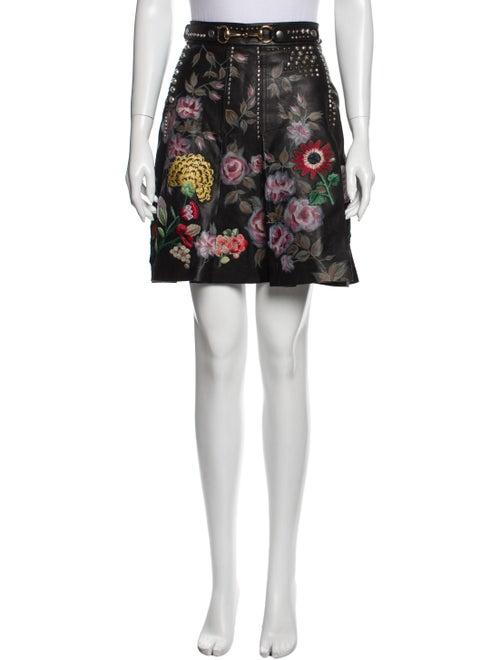 Gucci 2016 Mini Skirt Black