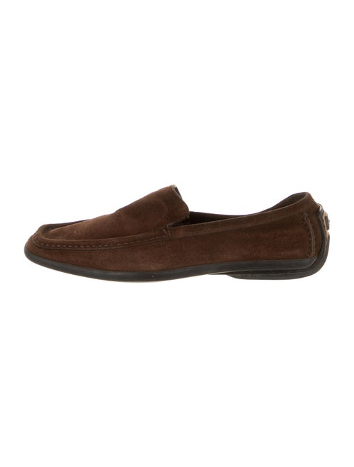 Gucci Suede Loafers Brown