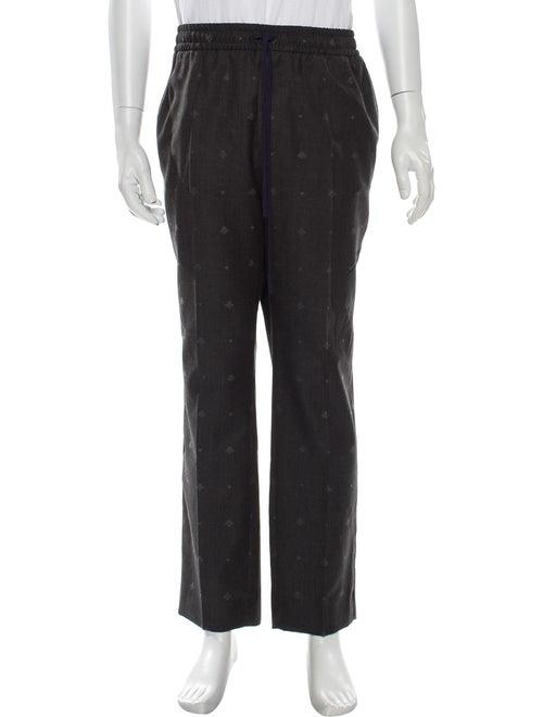 Gucci Printed Pants Grey