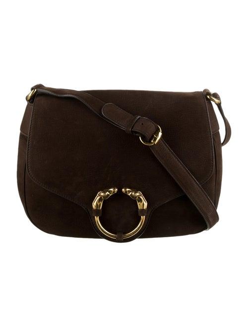 Gucci Nubuck Ribot Bag gold