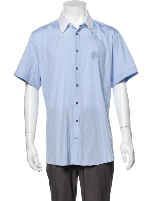 Gucci Short Sleeve Shirt Blue