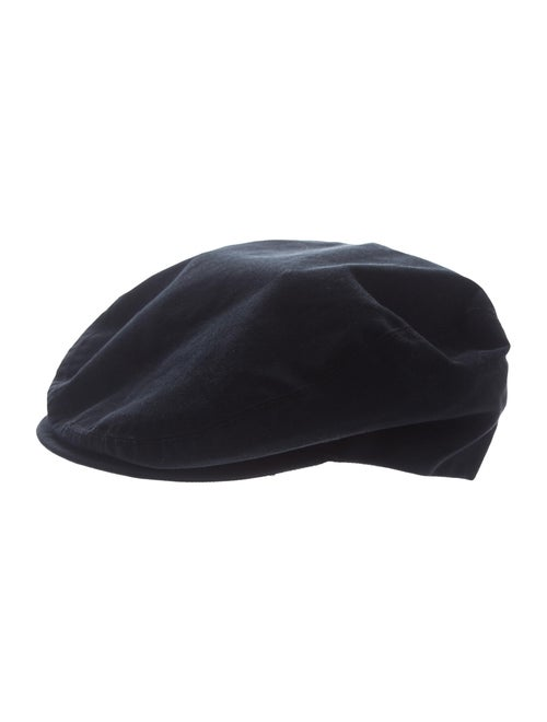 Gucci Canvas Newsboy Hat Teal