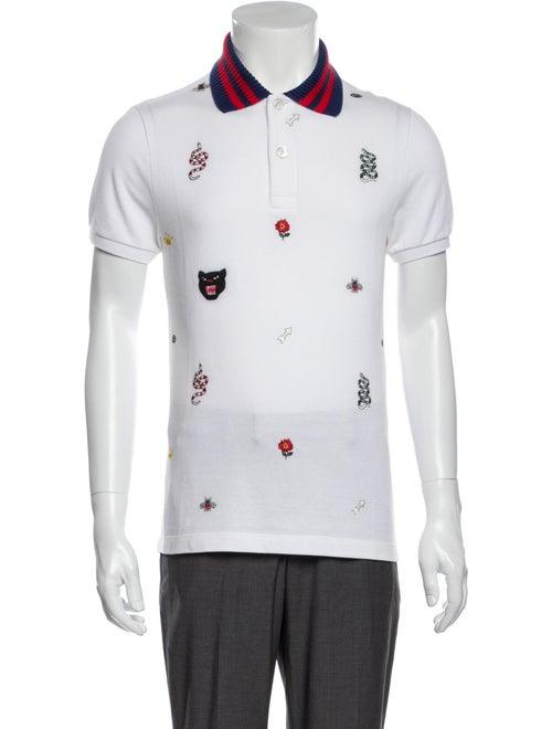 Gucci 2019 Kingsnake Polo Shirt w/ Tags
