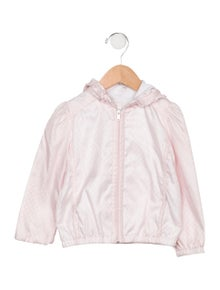 Gucci Girls' GG Hooded Jacket
