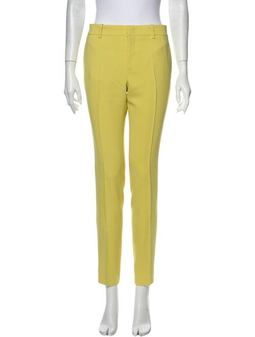 Gucci Skinny Leg Pants Yellow