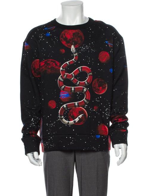 Gucci 2017 Kingsnake Sweatshirt Black
