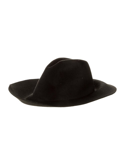 Gucci Felt Fedora Hat Black