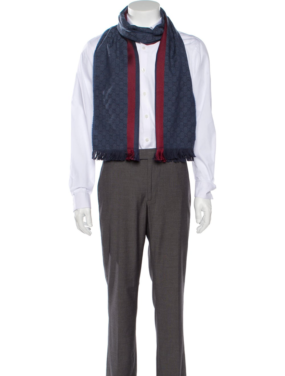Gucci Wool Web Scarf w/ Tags multicolor - image 3