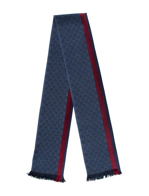 Gucci Wool Web Scarf w/ Tags multicolor - image 1