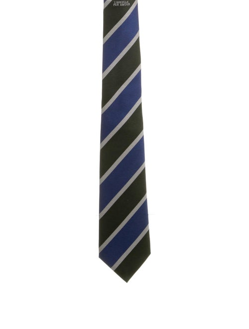 Gucci Amour Silk Tie blue