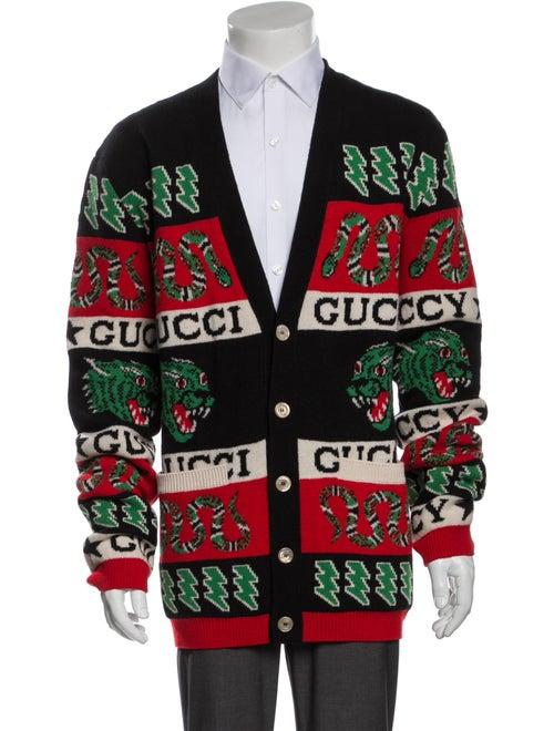Gucci 2019 Kingsnake Cardigan w/ Tags Wool