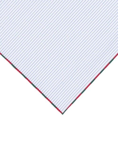 Gucci 2018 Woven Striped Pocket Square w/ Tags