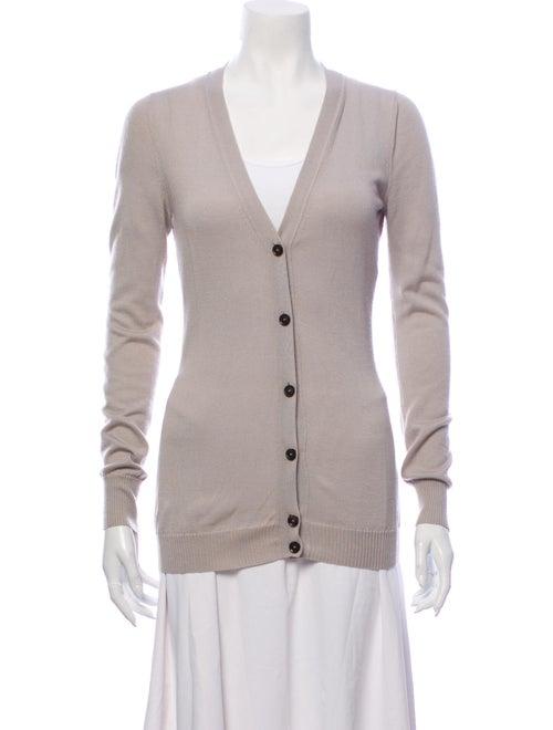 Gucci Cashmere Cardigan Cashmere Sweater Grey