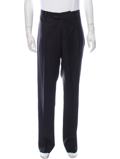 Gucci Striped Wool Pants Wool