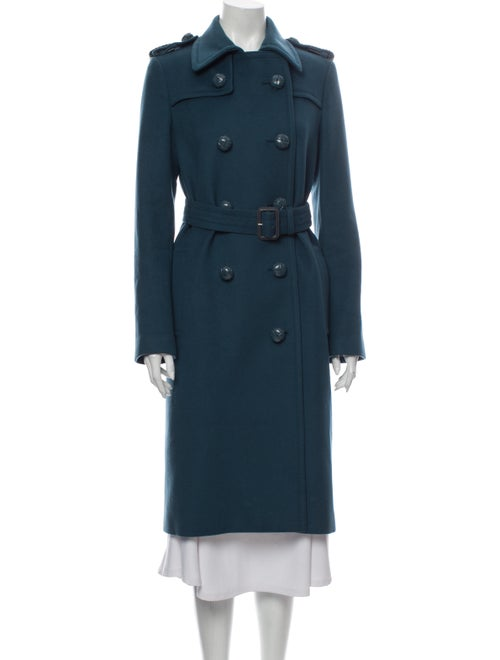 Gucci Trench Coat Blue
