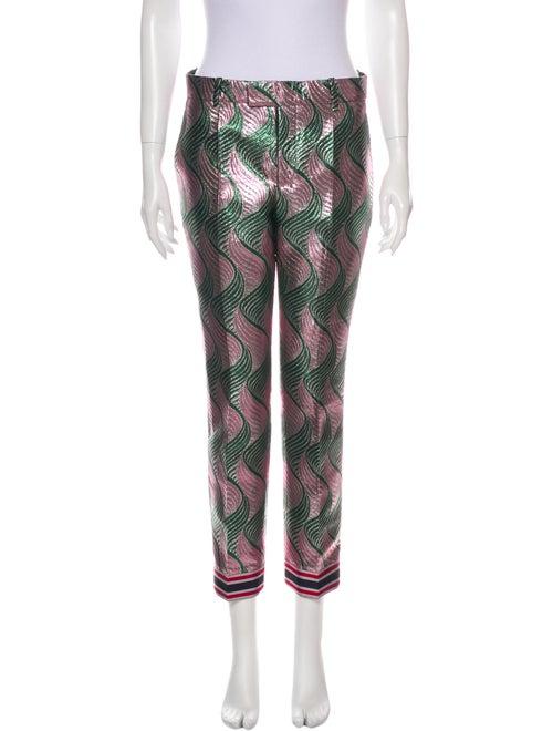 Gucci 2016 Straight Leg Pants Green
