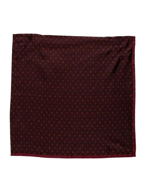 Gucci Silk Printed Pocket Square brown - image 1