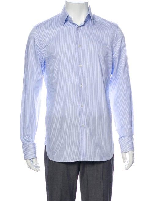 Gucci Striped Long Sleeve Shirt Striped Dress Shir