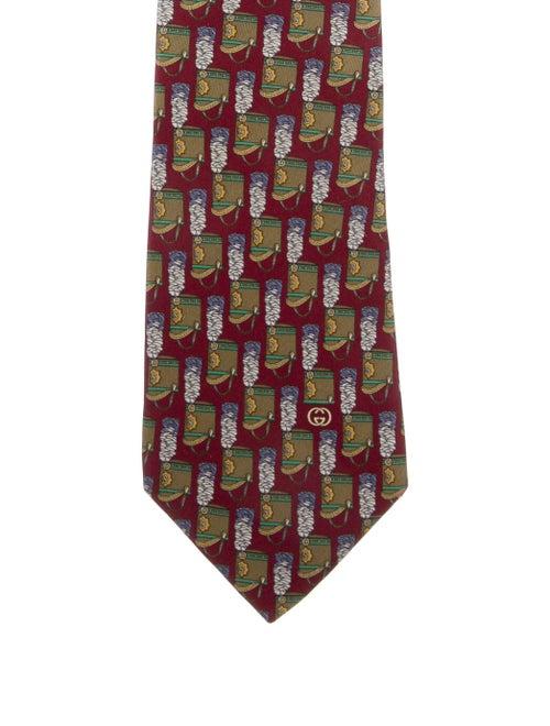 Gucci Printed Silk Tie