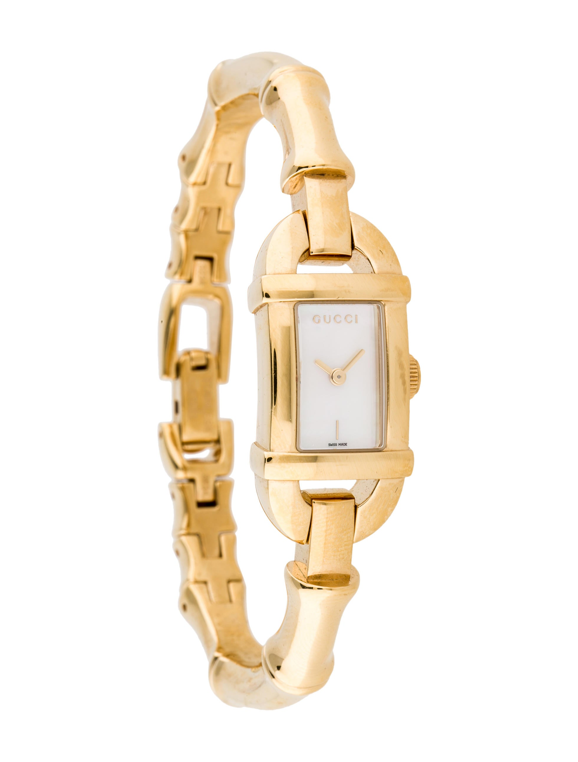 cfdcb6ed45d Gucci Bamboo 6800L Watch - Bracelet - GUC54837