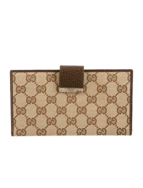 d0f5cf0389407e Gucci Checkbook Cover - GUC54952   The RealReal
