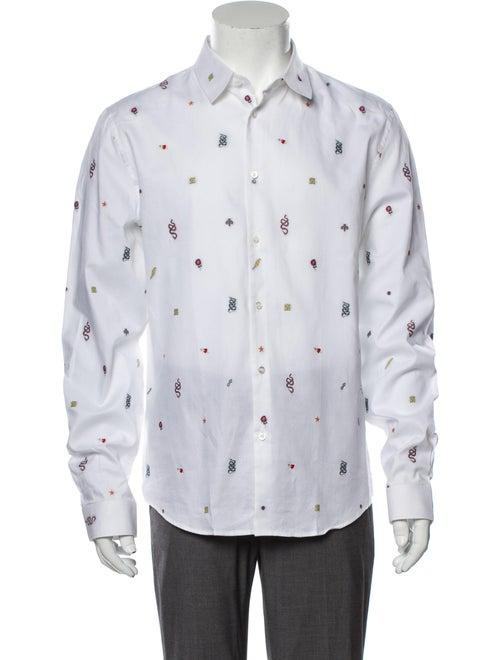 Gucci Duke Patterned Shirt White