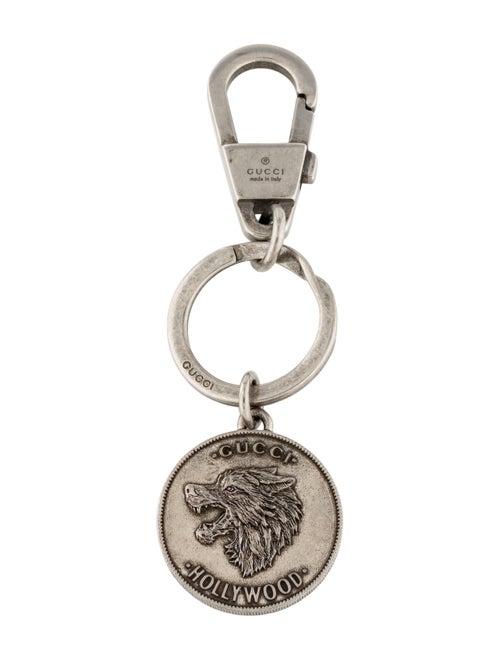 Gucci Hollywood Keychain silver