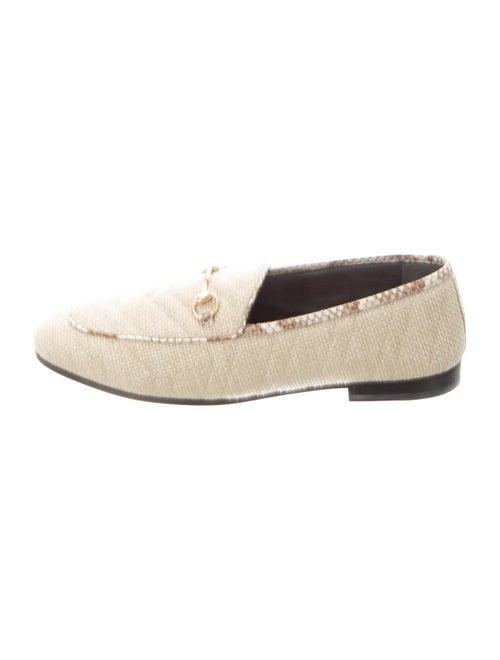 Gucci Raffia Dress Loafers
