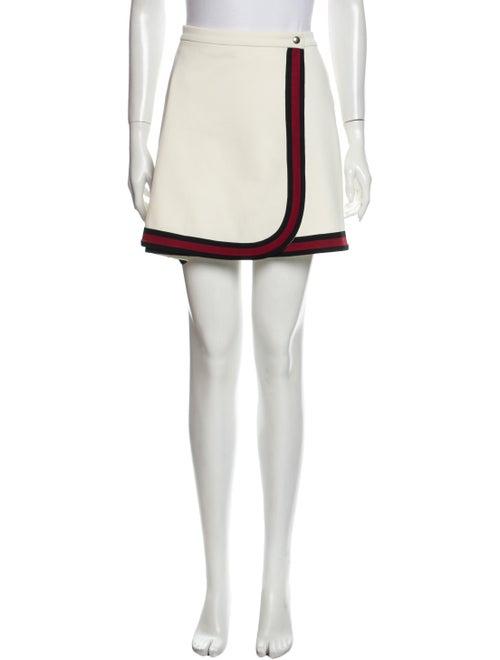 Gucci Colorblock Pattern Mini Skirt