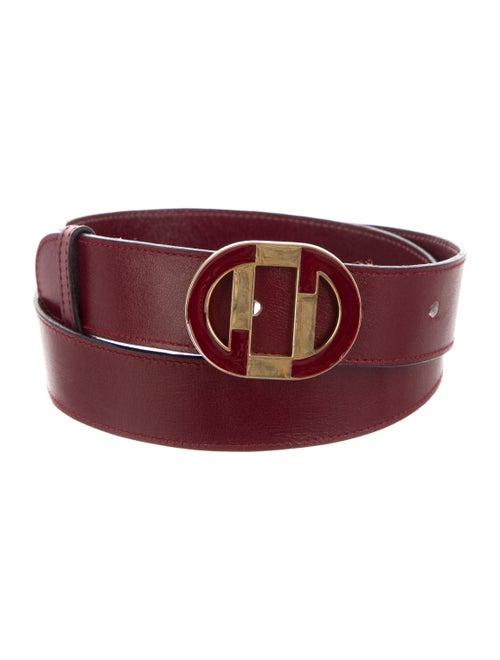 Gucci Leather Hip Belt gold