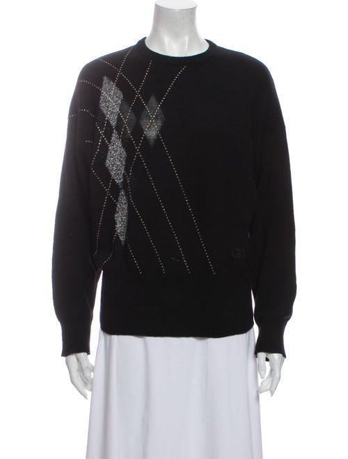 Gucci 1970's Cashmere Sweater Black - image 1