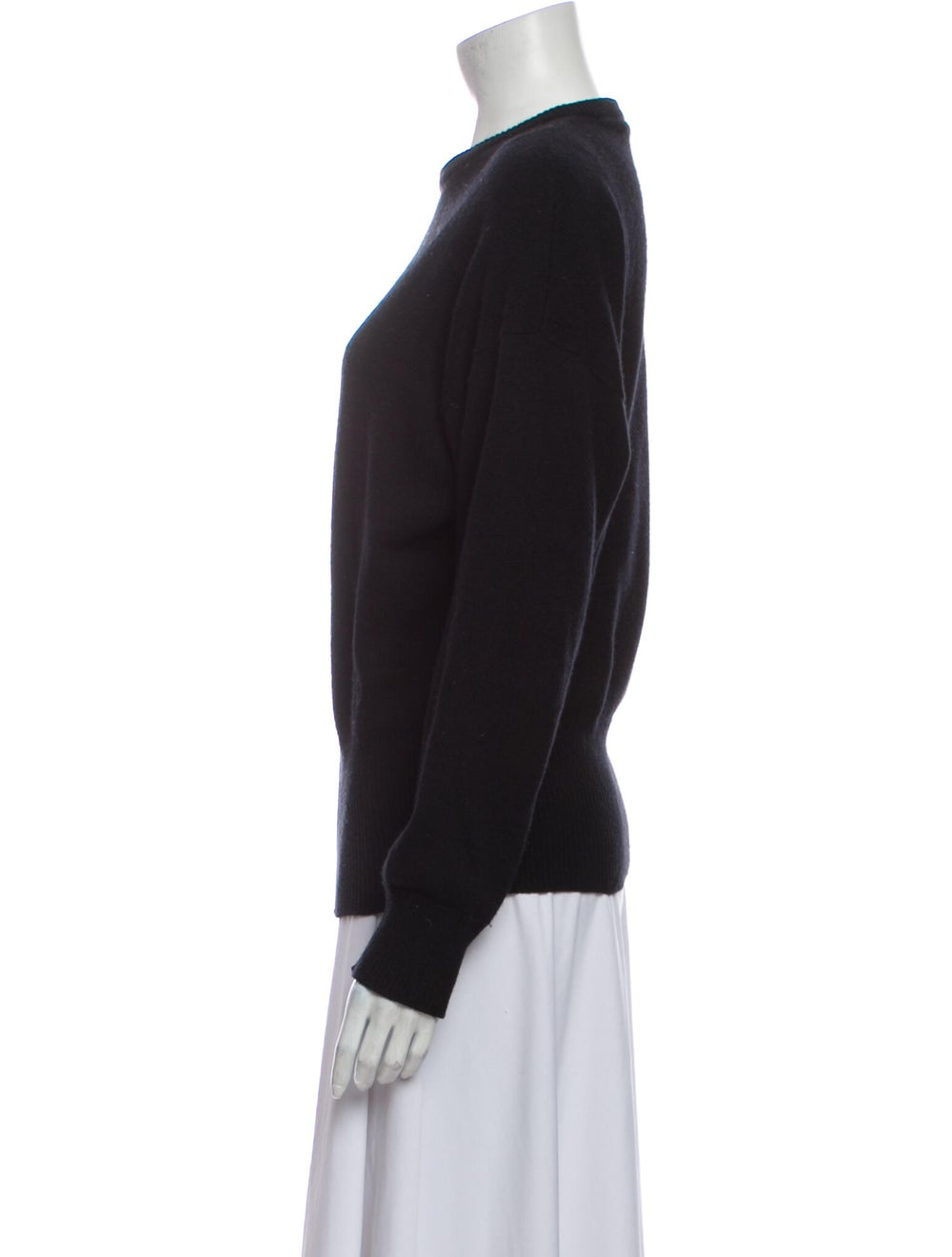 Gucci 1970's Cashmere Sweater Black - image 2