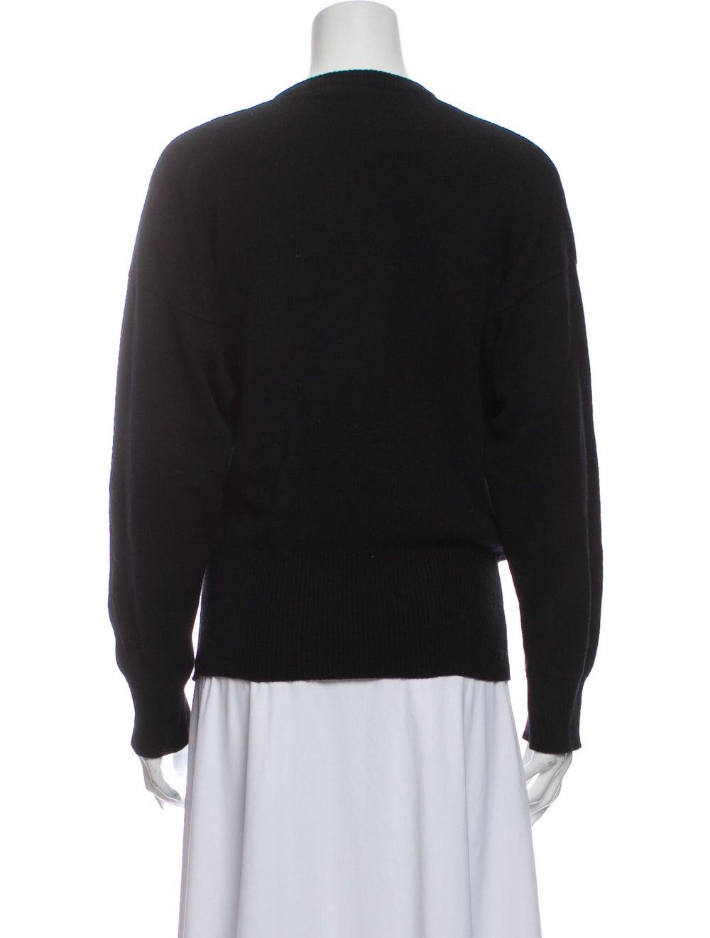 Gucci 1970's Cashmere Sweater Black - image 3