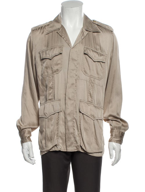 Gucci Silk Long Sleeve Shirt