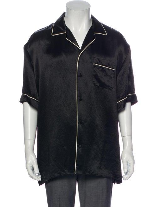 Gucci 2019 Bowling Shirt Black