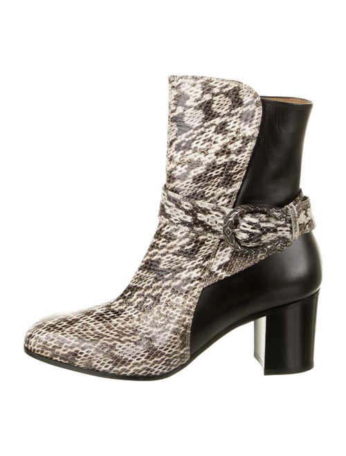 Gucci Dionysus Snakeskin Boots