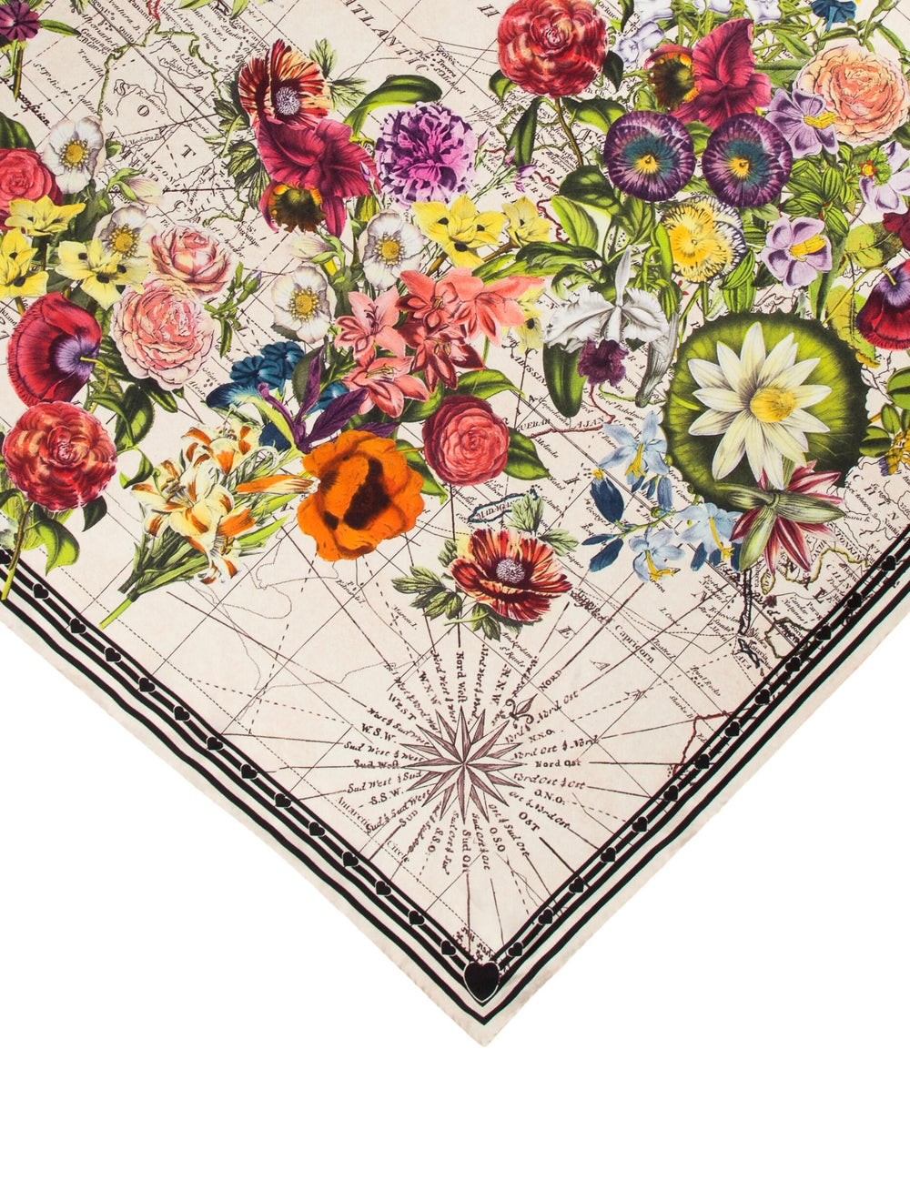 Gucci Silk Floral Printed Scarf multicolor - image 2
