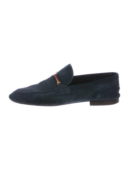 Gucci Suede Loafers Blue