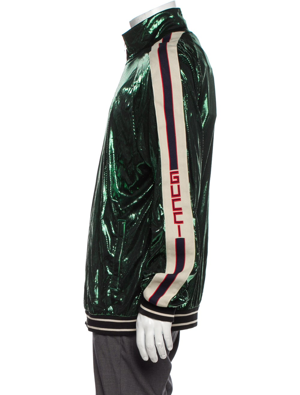 Gucci 2019 Bomber Jacket w/ Tags Green - image 2