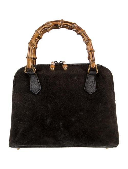 Gucci Mini Bamboo Handle Bag Brown - image 1