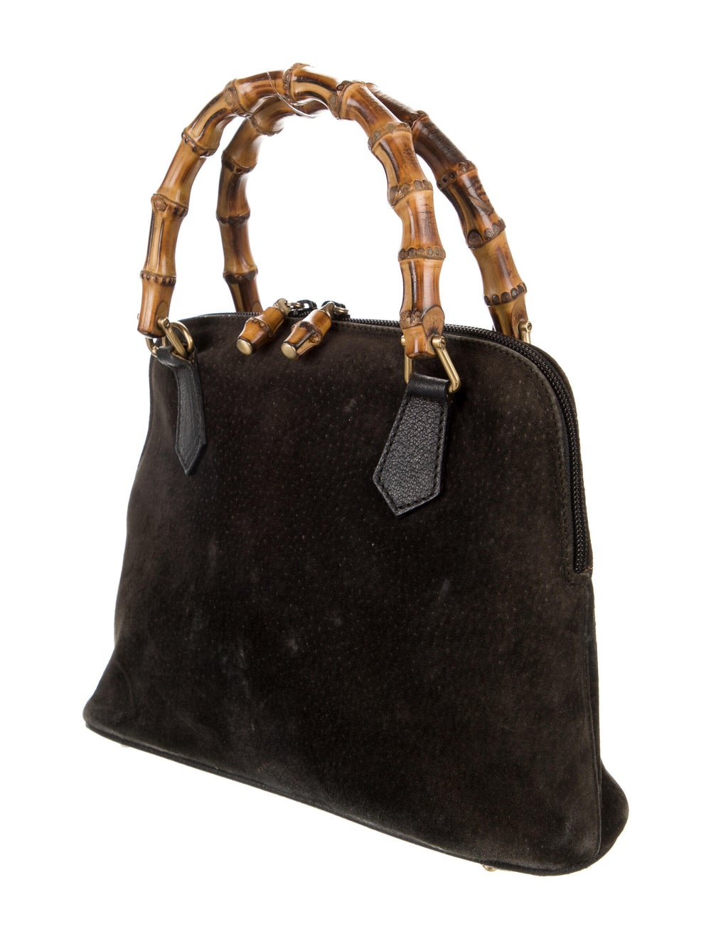 Gucci Mini Bamboo Handle Bag Brown - image 3