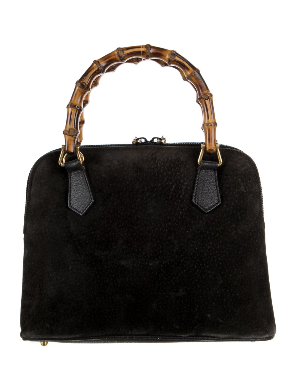 Gucci Mini Bamboo Handle Bag Brown - image 4