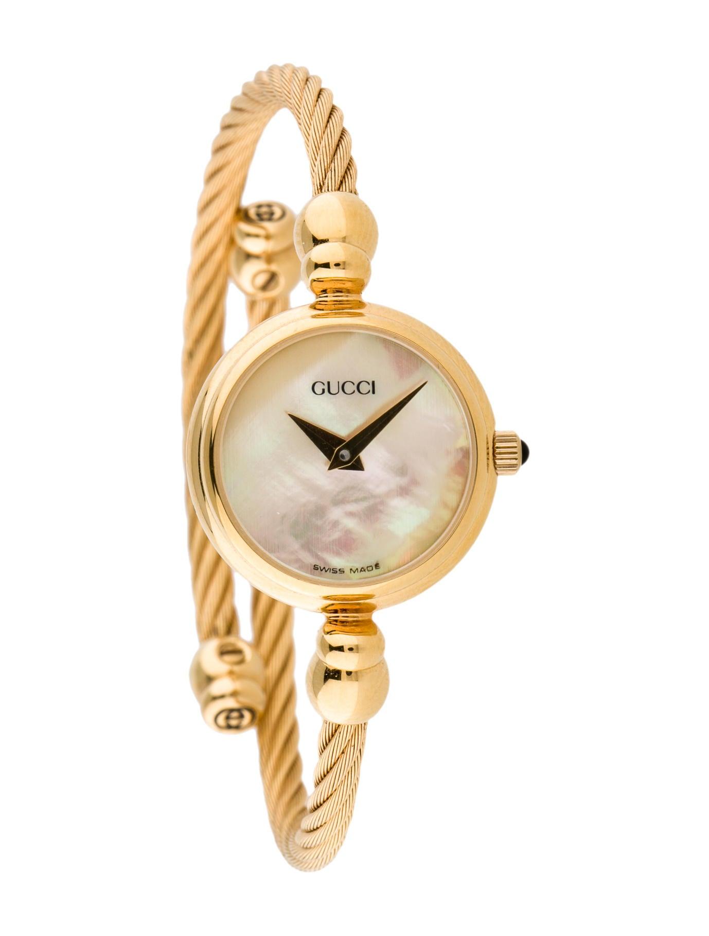 afe23be5c36 Gucci 2700.2.L Coil Watch - Bracelet - GUC57212