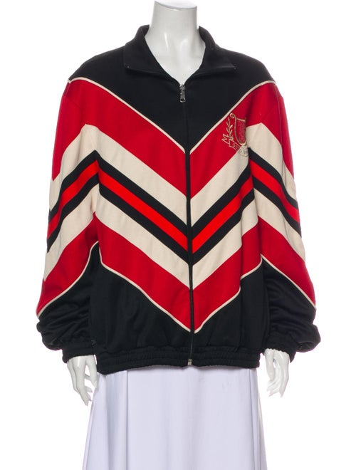 Gucci 2019 Striped Bomber Jacket w/ Tags Black - image 1