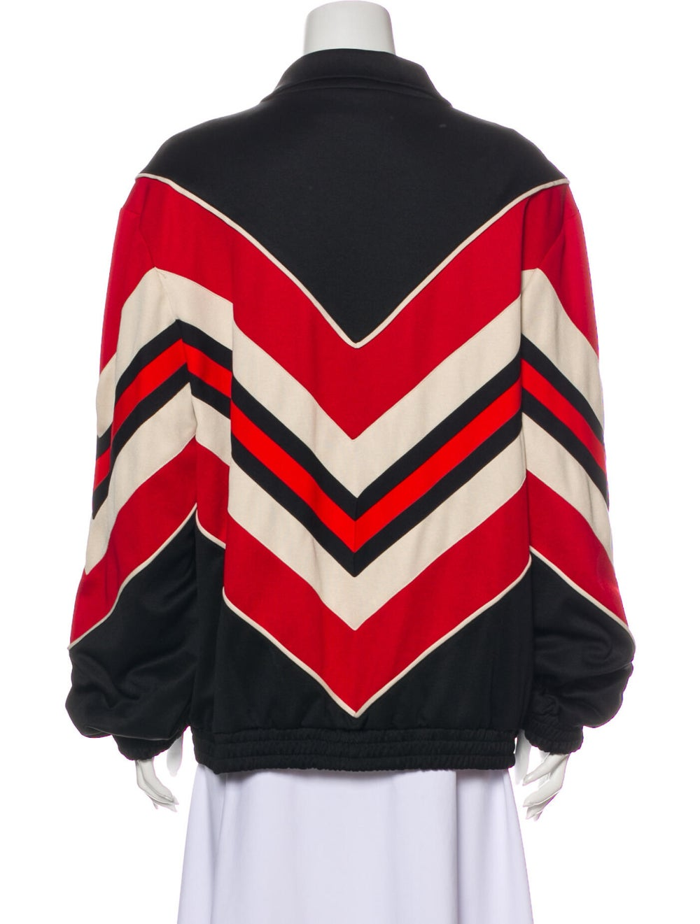 Gucci 2019 Striped Bomber Jacket w/ Tags Black - image 3