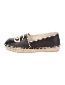 Gucci Leather Espadrilles w/ Tags